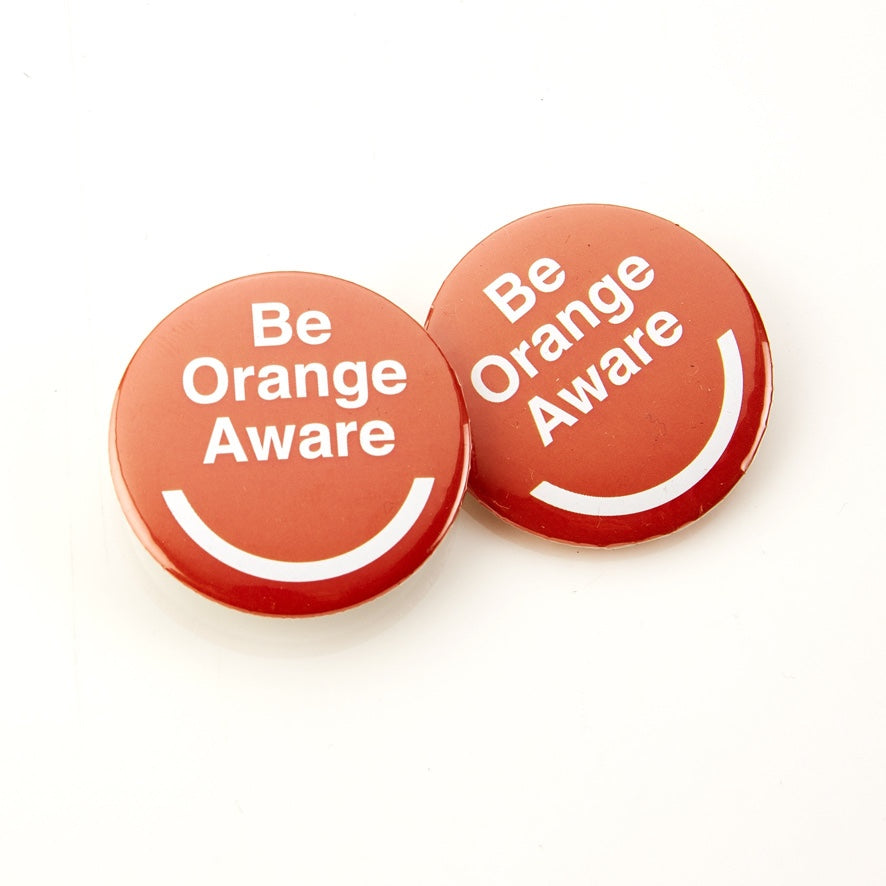 Orange Aware Badge