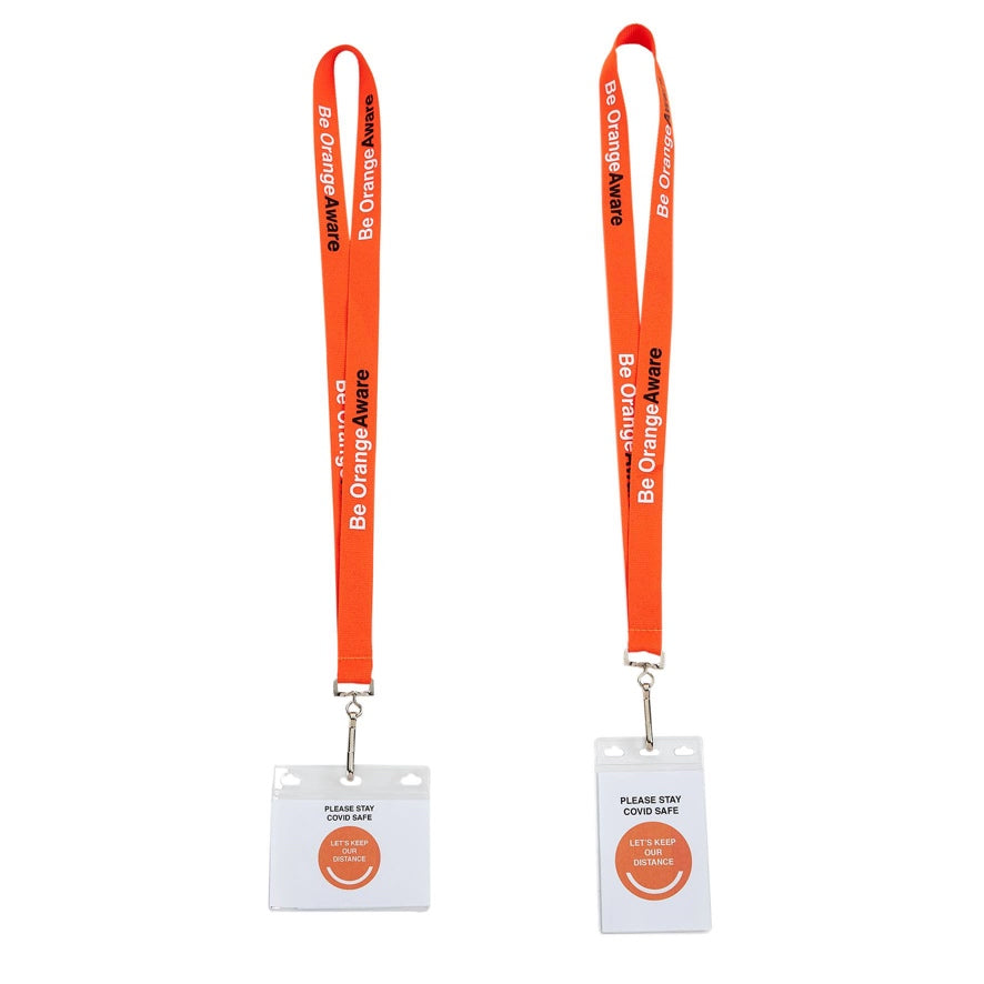 Orange Aware Lanyard