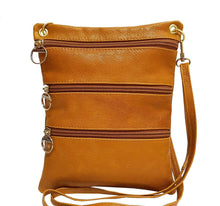 Load image into Gallery viewer, Camel Leather Pouch