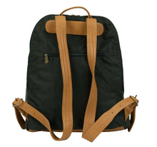 Load image into Gallery viewer, Men's Nylon and Leather Backpack