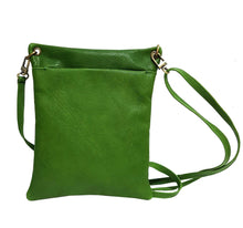 Load image into Gallery viewer, Green Leather Pouch