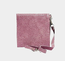 Load image into Gallery viewer, Fuchsia Stingray Leather Wallet
