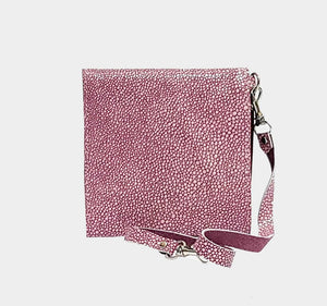 Fuchsia Stingray Leather Wallet
