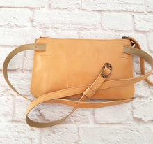 Load image into Gallery viewer, Tan Leather Belt Bag