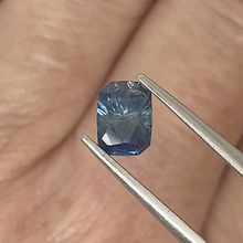 Load image into Gallery viewer, 1.16ct Medium Blue Radiant Cut Sapphire