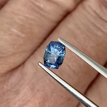 Load image into Gallery viewer, 0.74ct Medium Blue Cushion Sapphire