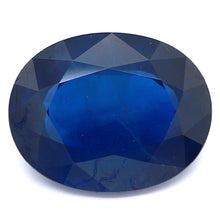 Load image into Gallery viewer, 2.80ct Blue Natural Sapphire