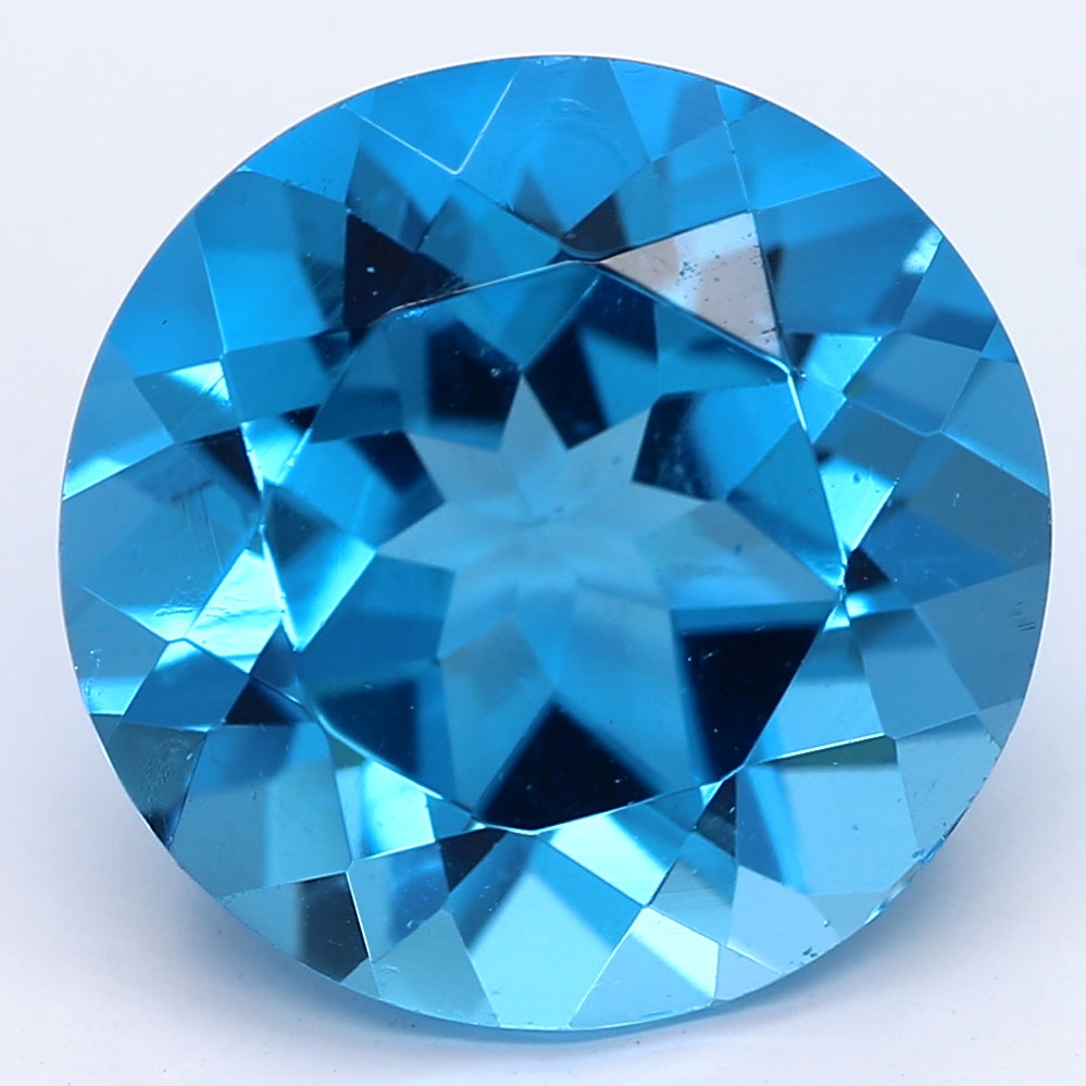 3.84ct Blue Natural Topaz