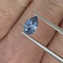 Load and play video in Gallery viewer, 1.05ct Medium Blue Pear Sapphire