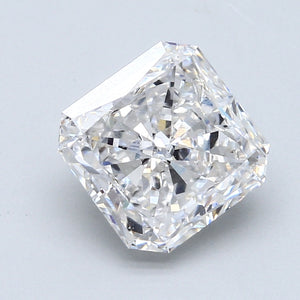 3.34ct. E VS1 Radiant Cut Certified Lab Grown Diamond