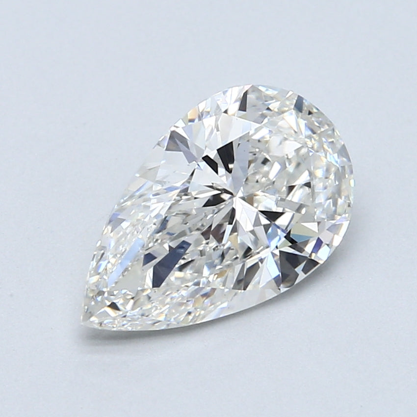 2.06ct. F VS1 Pear Shape Certified Lab Grown Diamond