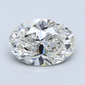 2.46ct. G SI2 Oval Cut Certified Lab Grown Diamond