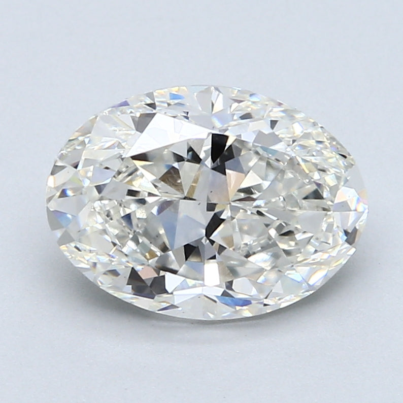 2.92ct. H VS1 Oval Cut Certified Lab Grown Diamond