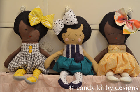 the elise doll pattern and tutorial