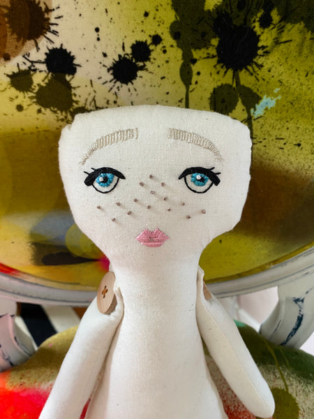 the CUSTOM rag doll - no. 1