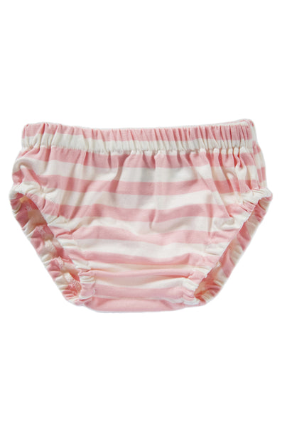 bloomer in blush and natural stripe
