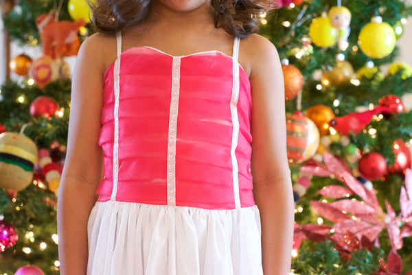 the sophia play gown in raspberry pink *SIZE DOWN*