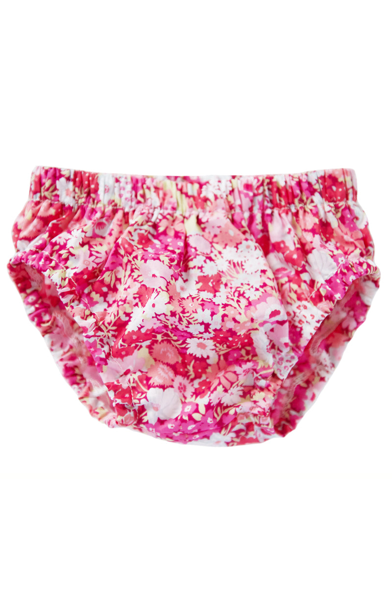 bloomer in liberty of london pink daisy floral *IRREGULAR TAG*