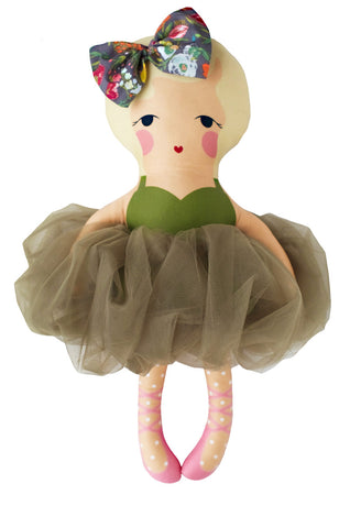 the olive ballerina doll