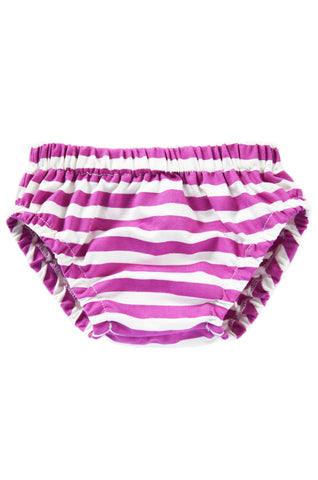 bloomer in radiant orchid and white stripe *IRREGULAR TAG*