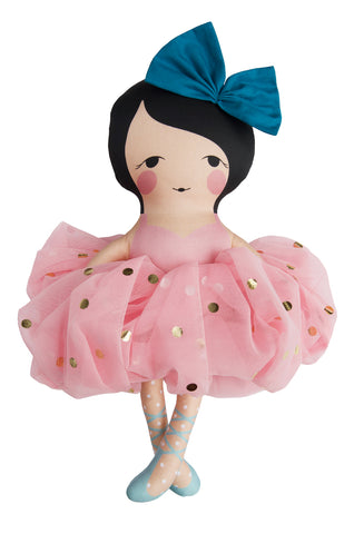 the amelia celebration ballerina doll