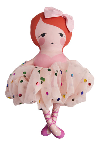 the scarlett celebration ballerina doll