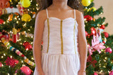 the sophia play gown in snow *FINAL SALE*