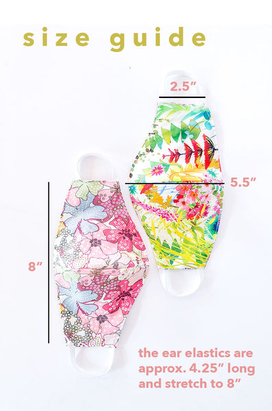 the women's mask in liberty summer florals PREORDER