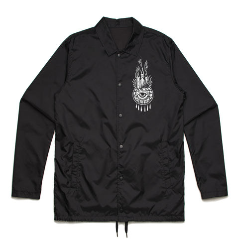 Religion Burn the World || Coaches Jacket