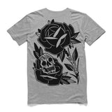 Skull Rose || Grey Marle