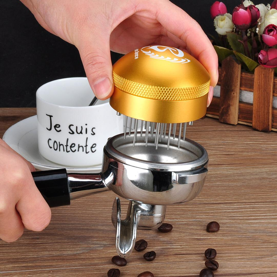 Barista Space Needle Distribution Tool Golden 58mm