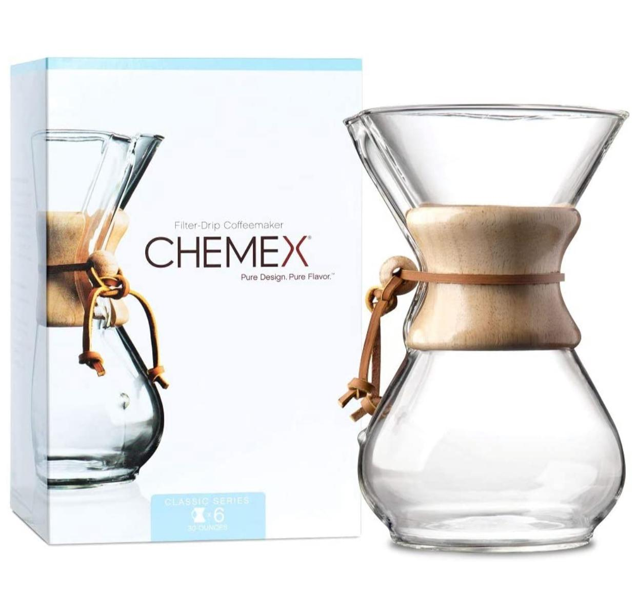6-Cup Chemex Pour-Over Glass