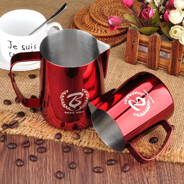 Barista Space Red Pitcher