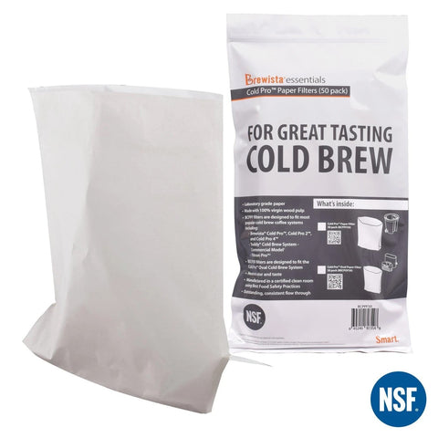 Brewista Cold Pro Paper Filter - 50pc