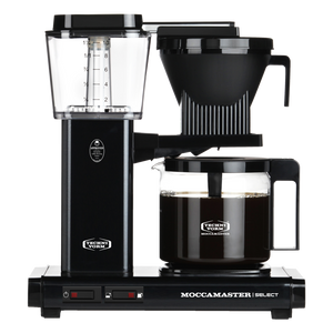 Moccamaster Glass Coffee Maker - Black