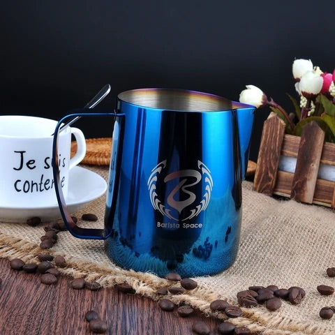 Barista Space Blue Pitcher
