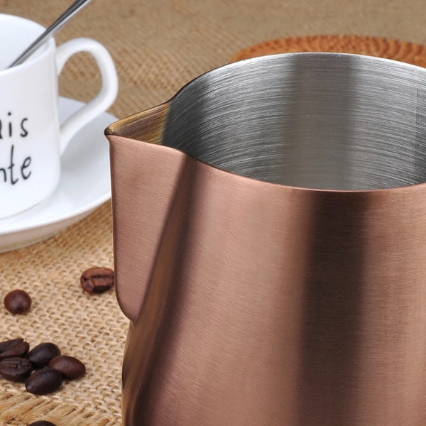 Barista Space Copper Color Pitcher