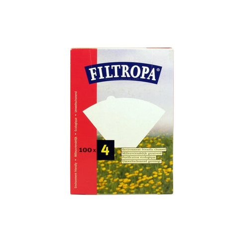 Filtropa White Size 4 Filter Paper - 100 pc