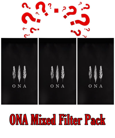 ONA Mixed Filter Pack - Three 200g bags