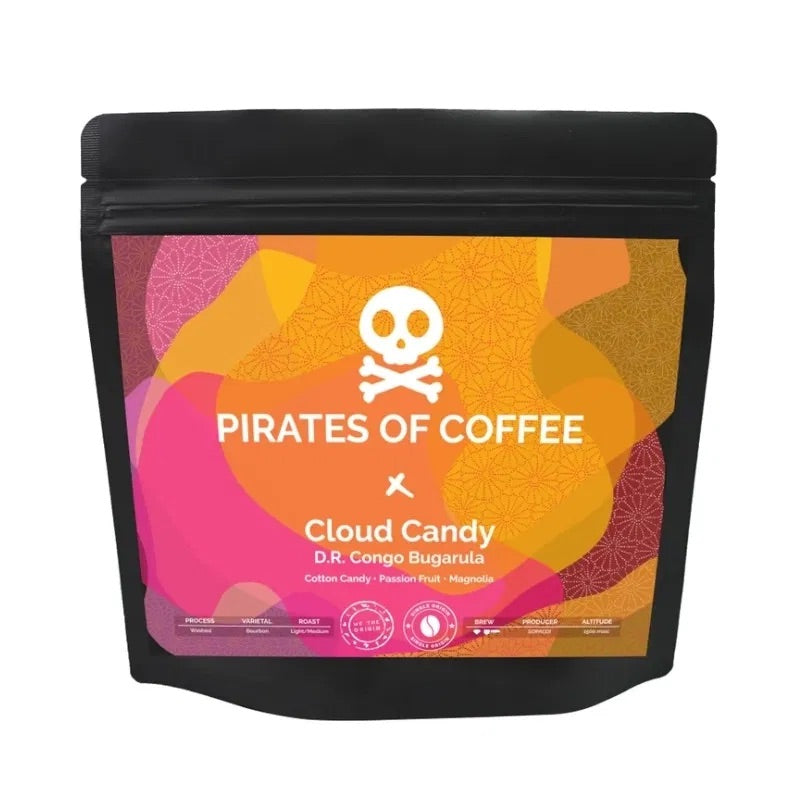 Pirates of Coffee Cloud Candy - Congo Bugarula - Espresso / Filter 250g