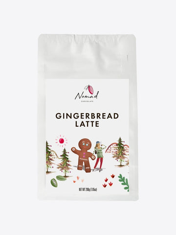 NOMAD Organic Chocolate - Gingerbread Latte 200g
