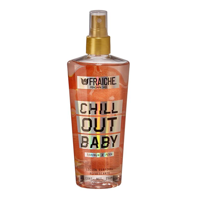 BODY CHILL OUT BABY 250ML Limón, Lirio de los valles, Ámbar