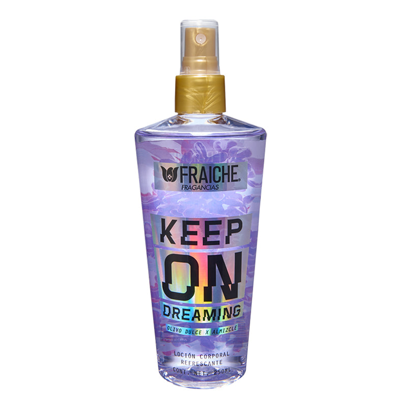 BODY KEEP ON DREAMING 250ML  Limón, Lirio de los valles, Ámbar