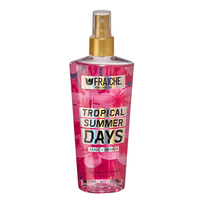 BODY TROPICAL SUMMER DAYS 250ML  Fruta de la pasión, Sandía, Violeta, Almizcle