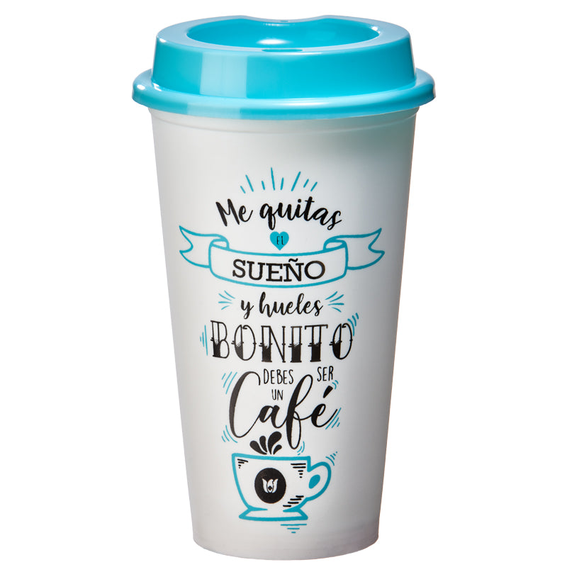 VASO CAFETERO BLANCO DEC