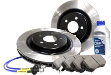 Load image into Gallery viewer, Stage 2 Brake Kit (2BK) - Pad-Rotor-Lines Combo (s-slot)