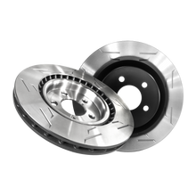 Load image into Gallery viewer, Stage 1 Brake Kit (1BK) - Pad-Rotor Combo (wing-slot)