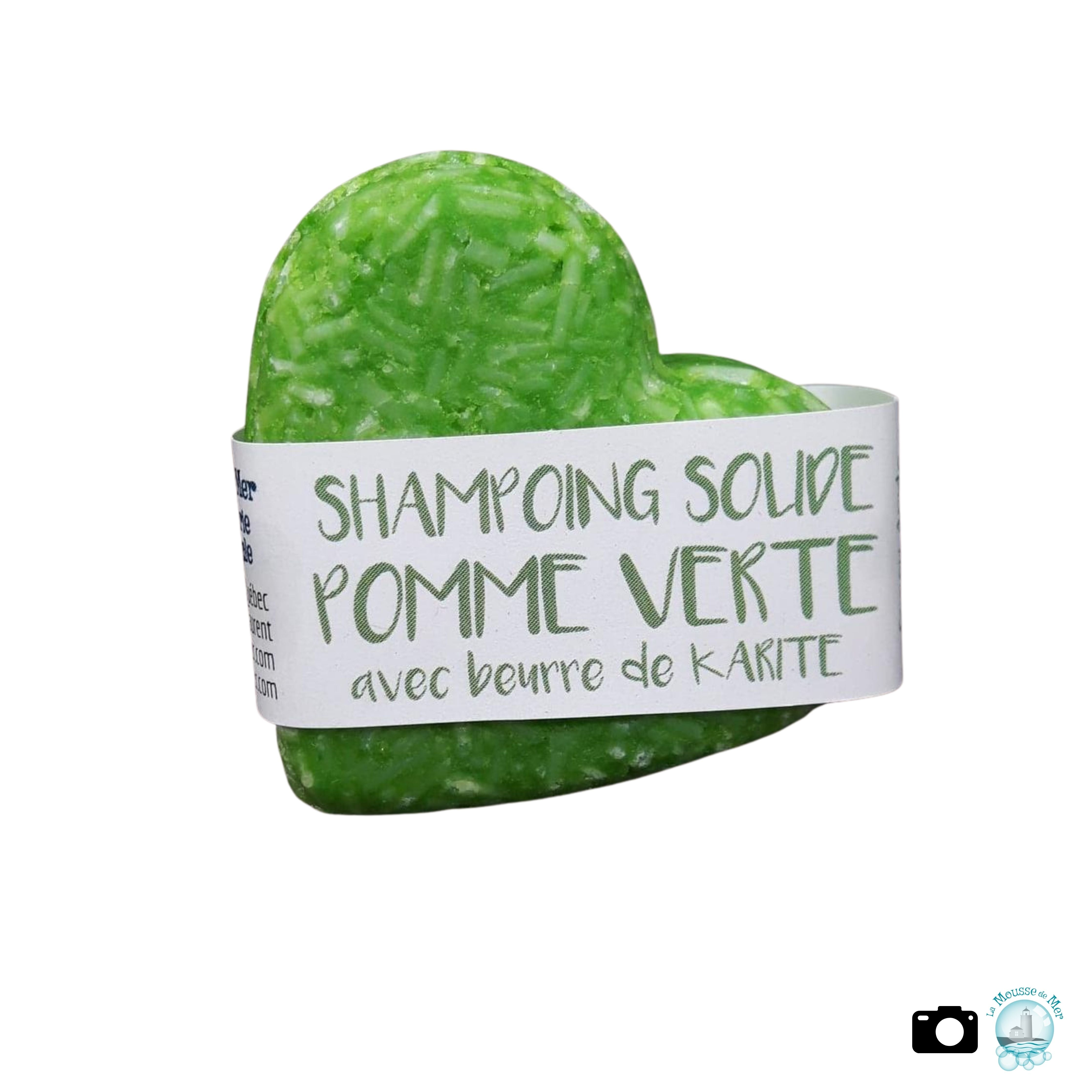 Pomme Verte - Shampoing solide parfumé