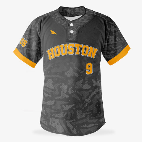Custom Baseball 2 Button Jersey