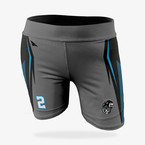 "Women's Volleyball Compression Shorts (5"")"
